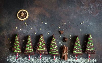 Cute Christmas Desserts for Santa