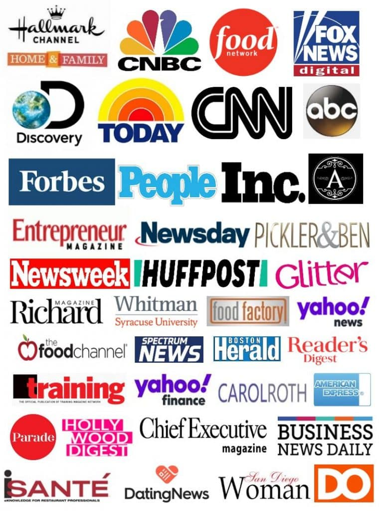 media logos of CPC features