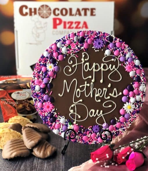combo Mother's Day Chocolate Pizza and Peanut Butter Wings
