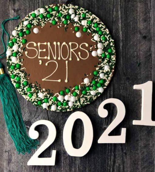 seniors 21 chocolate pizza