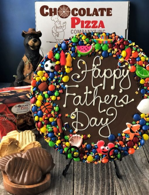 Fathers Day Chocolate Pizza combo with PB Wings